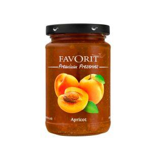 Favorit Apricot Preserve 6 PK 12.3 Oz