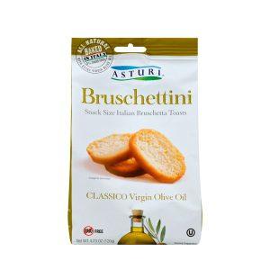 Asturi Brushettini Classic Evoo 4.23 Oz
