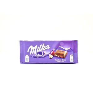 Chocolate Milka Trauben Nuss 3.5 Oz