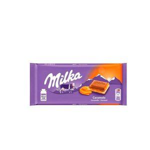 Chocolate Milka With Caramel Creme 3.52 Oz