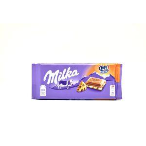 Chocolate Milka Chips Ahoy 3.5 Oz