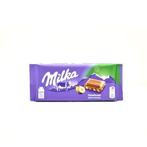 Chocolate Milka With Hazelnut 3.52 Oz