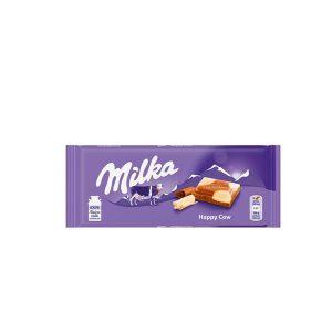 Chocolate Milka Milk and White 3.5 Oz