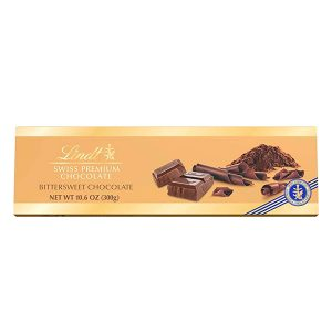 Chocolate Lindt Swiss Premium Bittersweet 10.6 Oz