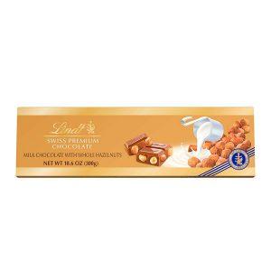 Chocolate Lindt Milk Chocolate W/Whole Hazelnuts 10.6 Oz